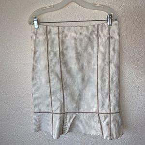 nanette lepore a line pencil skirt size 8 EUC